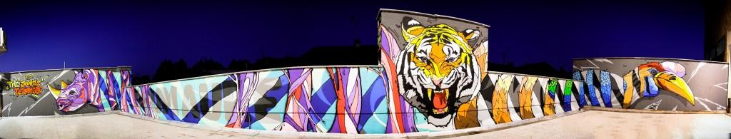 Fresque centre culturel 2012